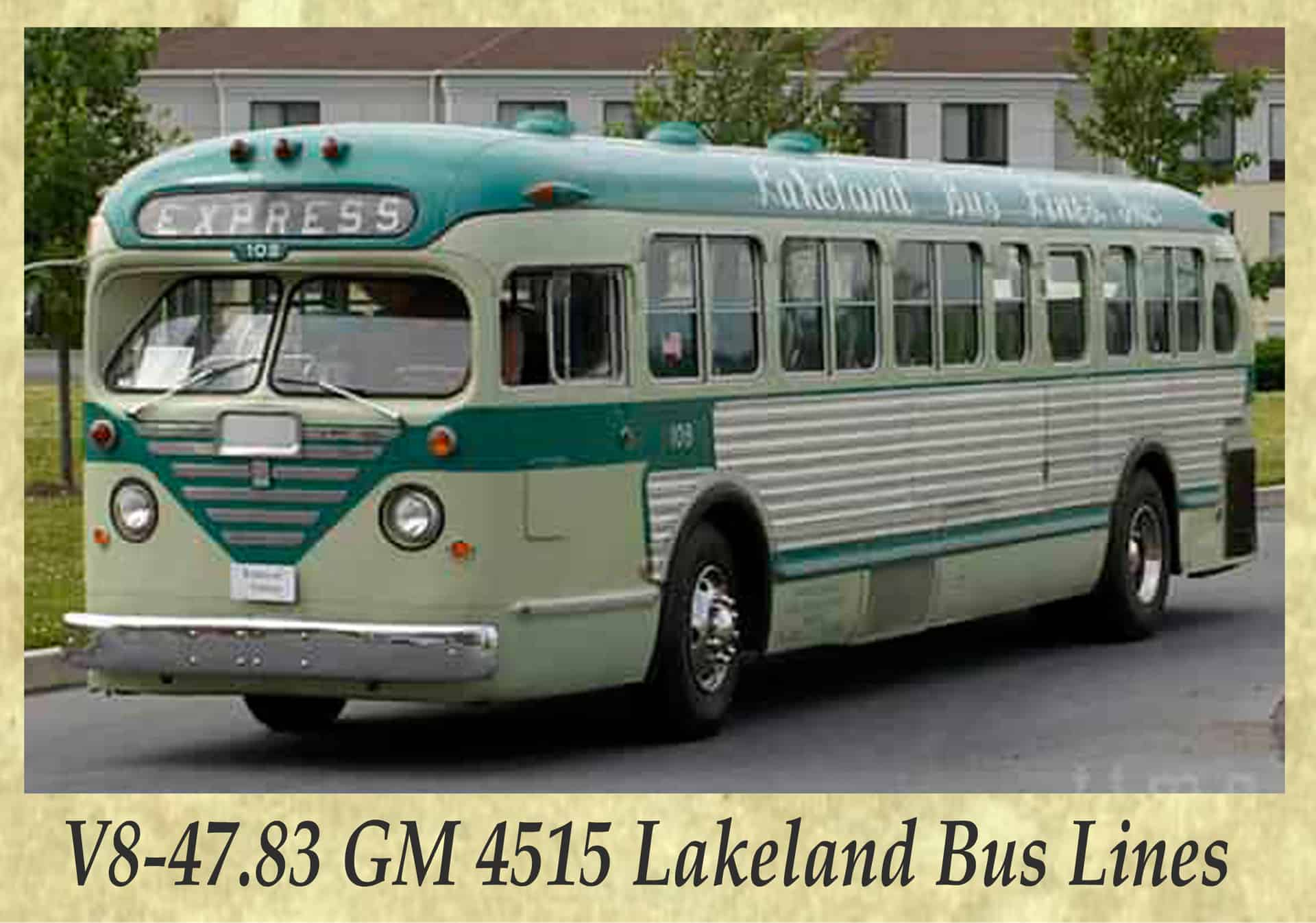 V8-47.83 GM 4515 Lakeland Bus Lines