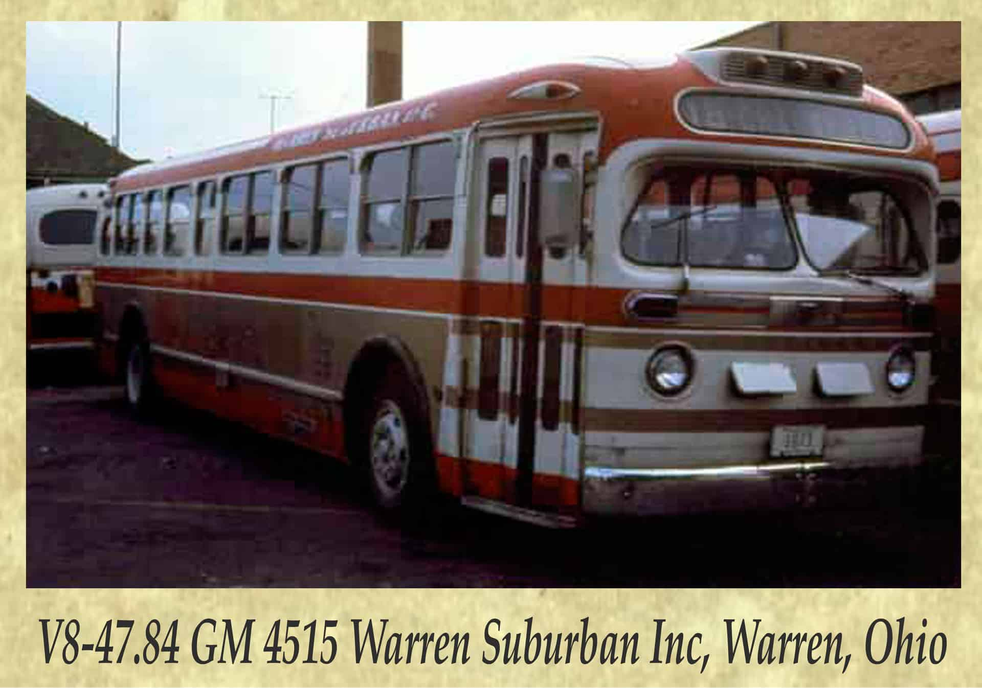 V8-47.84 GM 4515 Warren Suburban Inc, Warren, Ohio