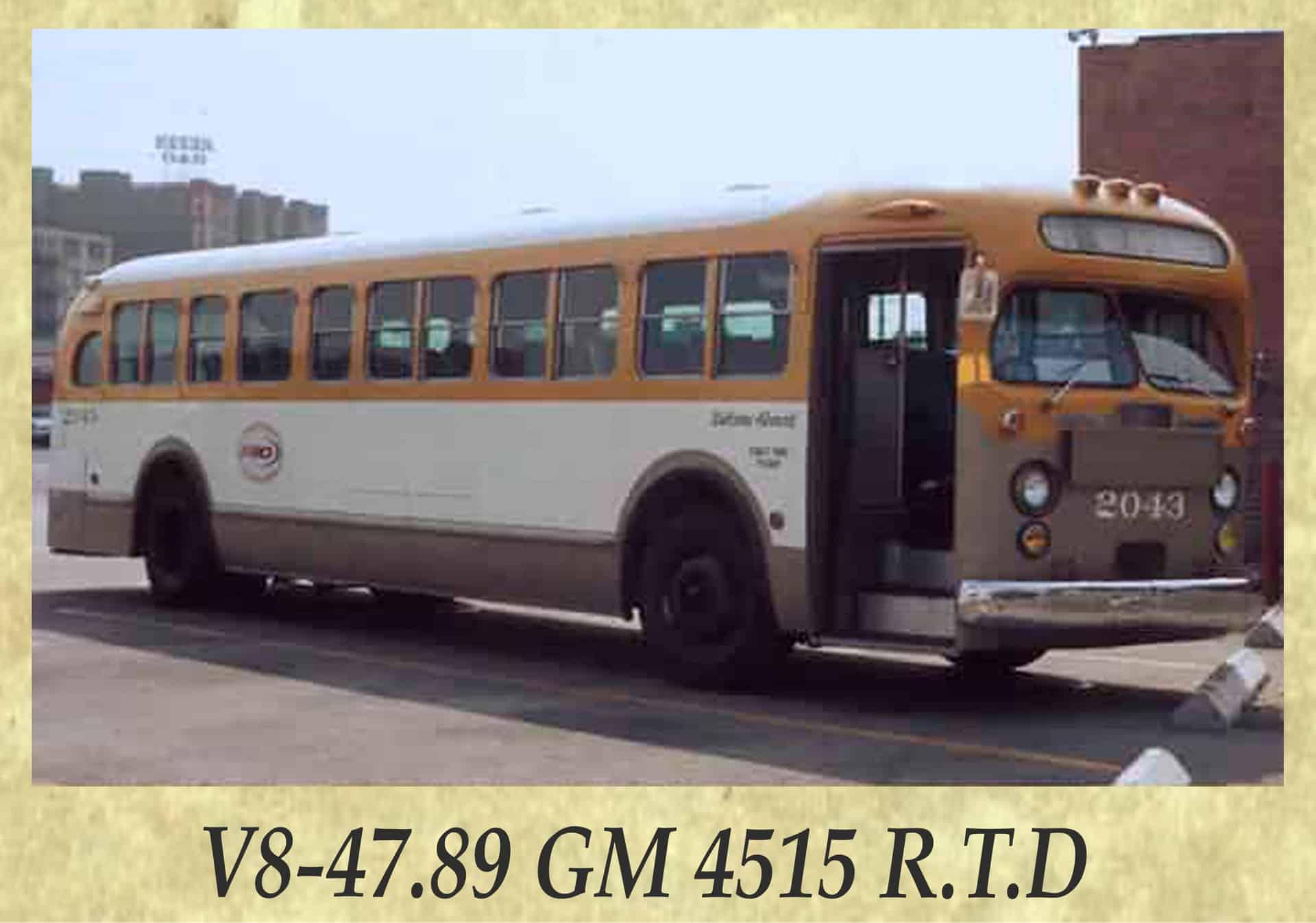 V8-47.89 GM 4515 R.T.D