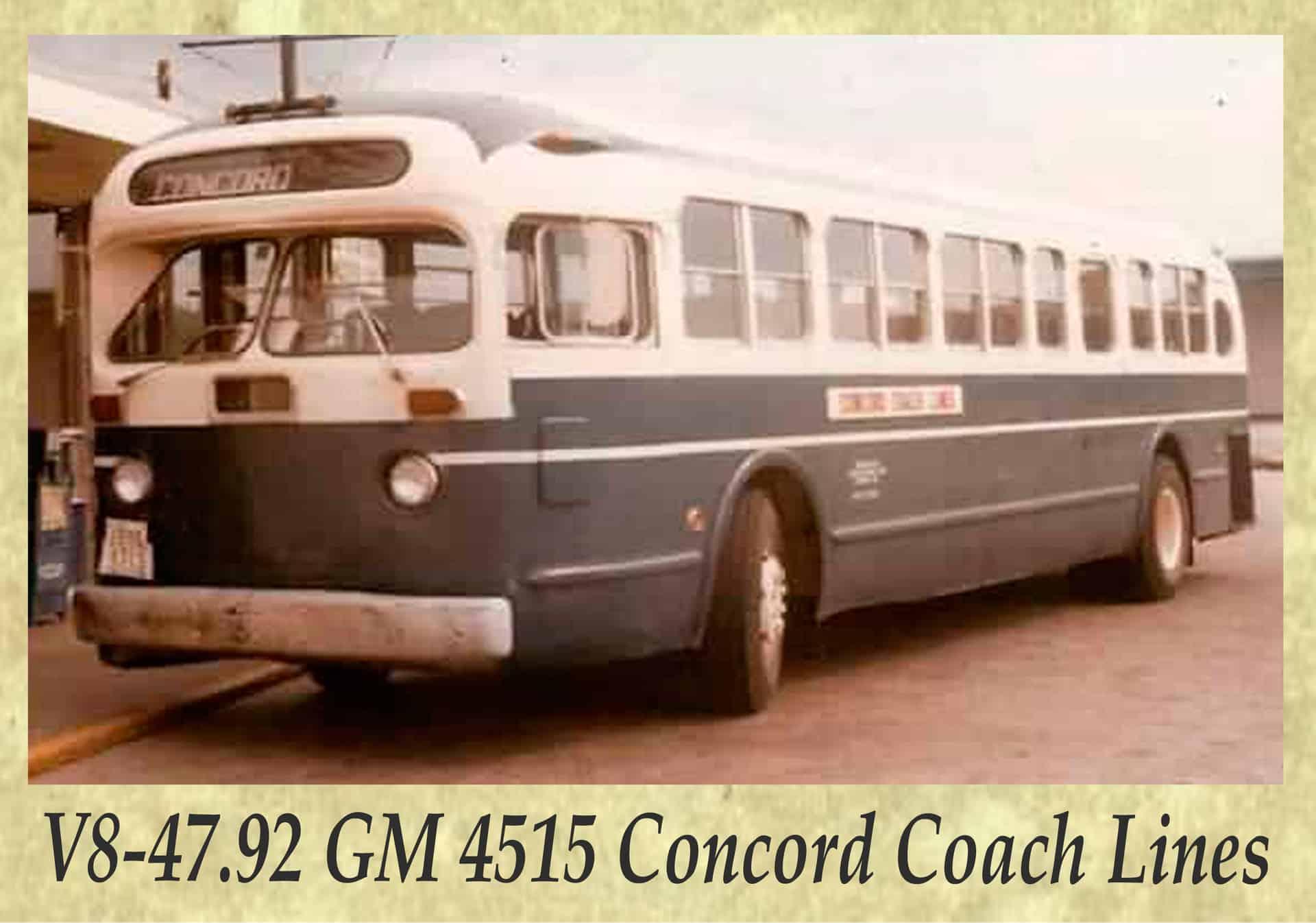 V8-47.92 GM 4515 Concord Coach Lines