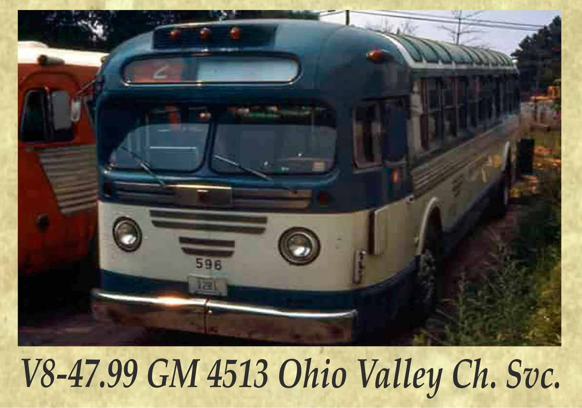 V8-47.99 GM 4513 Ohio Valley Ch. Svc.