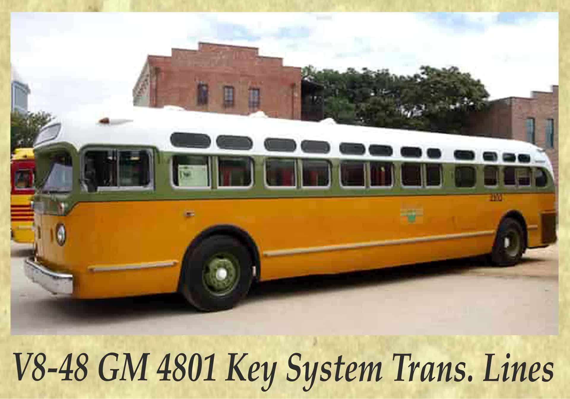 V8-48 GM 4801 Key System Trans. Lines