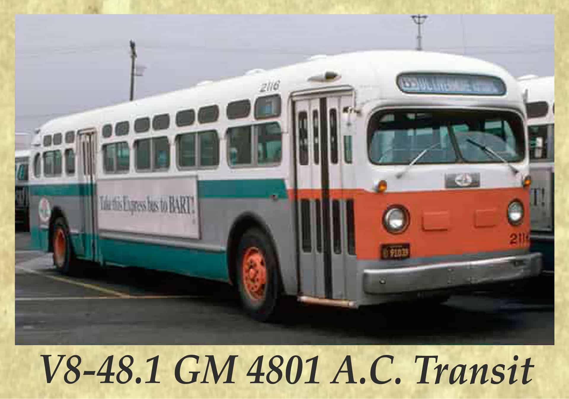 V8-48.1 GM 4801 A.C. Transit