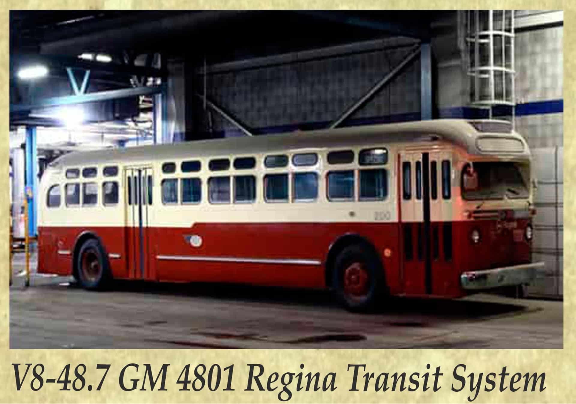 V8-48.7 GM 4801 Regina Transit System