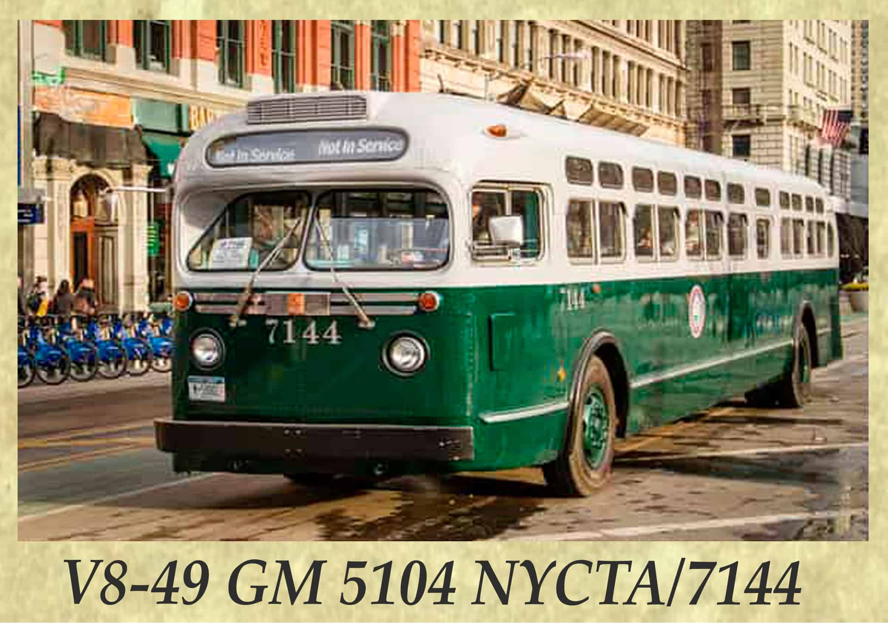 V8-49 GM 5104 NYCTA 7144