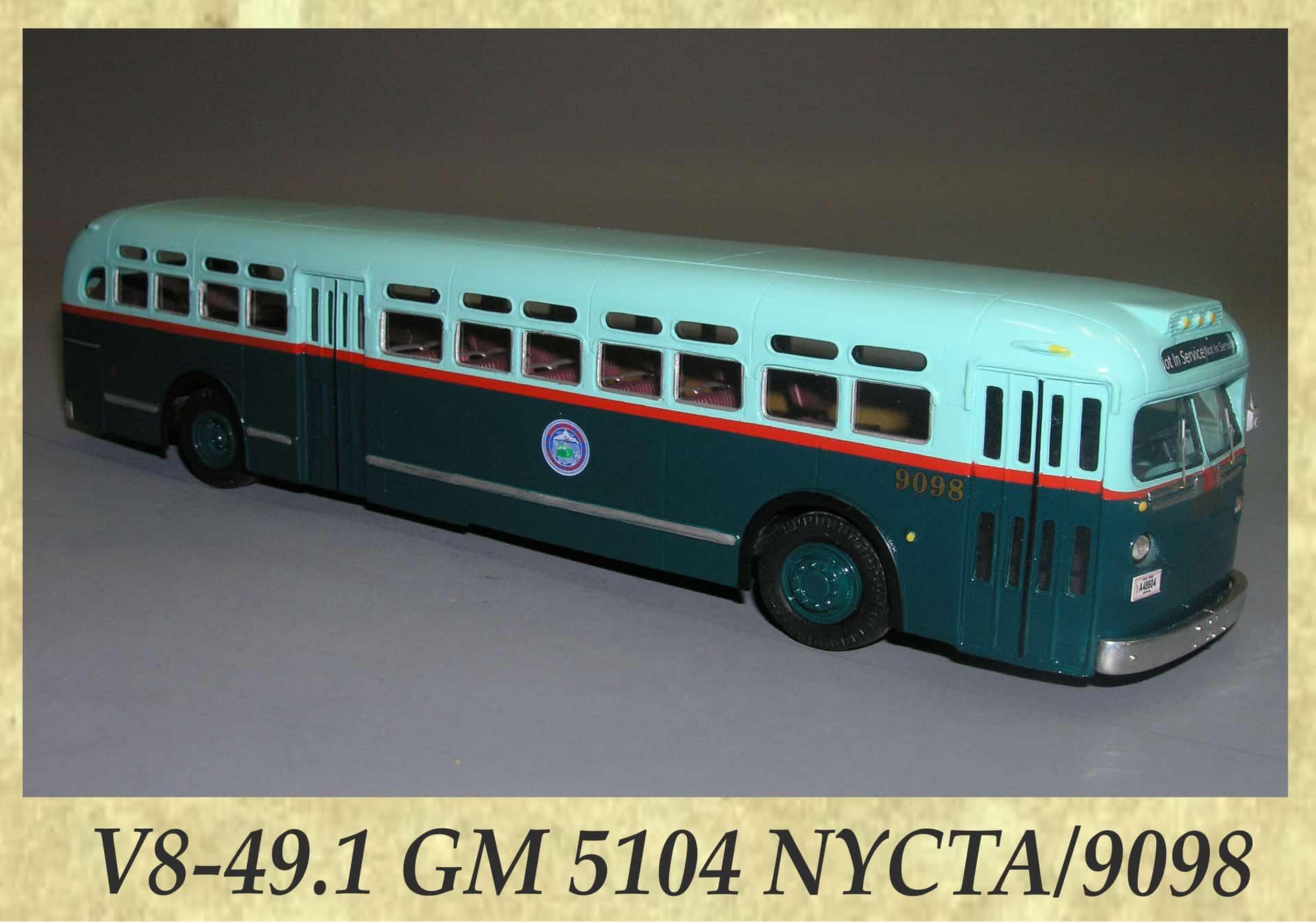 V8-49.1 GM 5104 NYCTA 9098