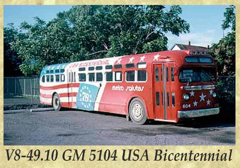 V8-49.10 GM 5104 USA Bicentennial