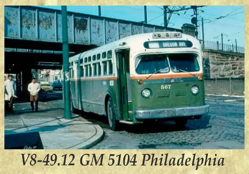 V8-49.12 GM 5104 Philadelphia