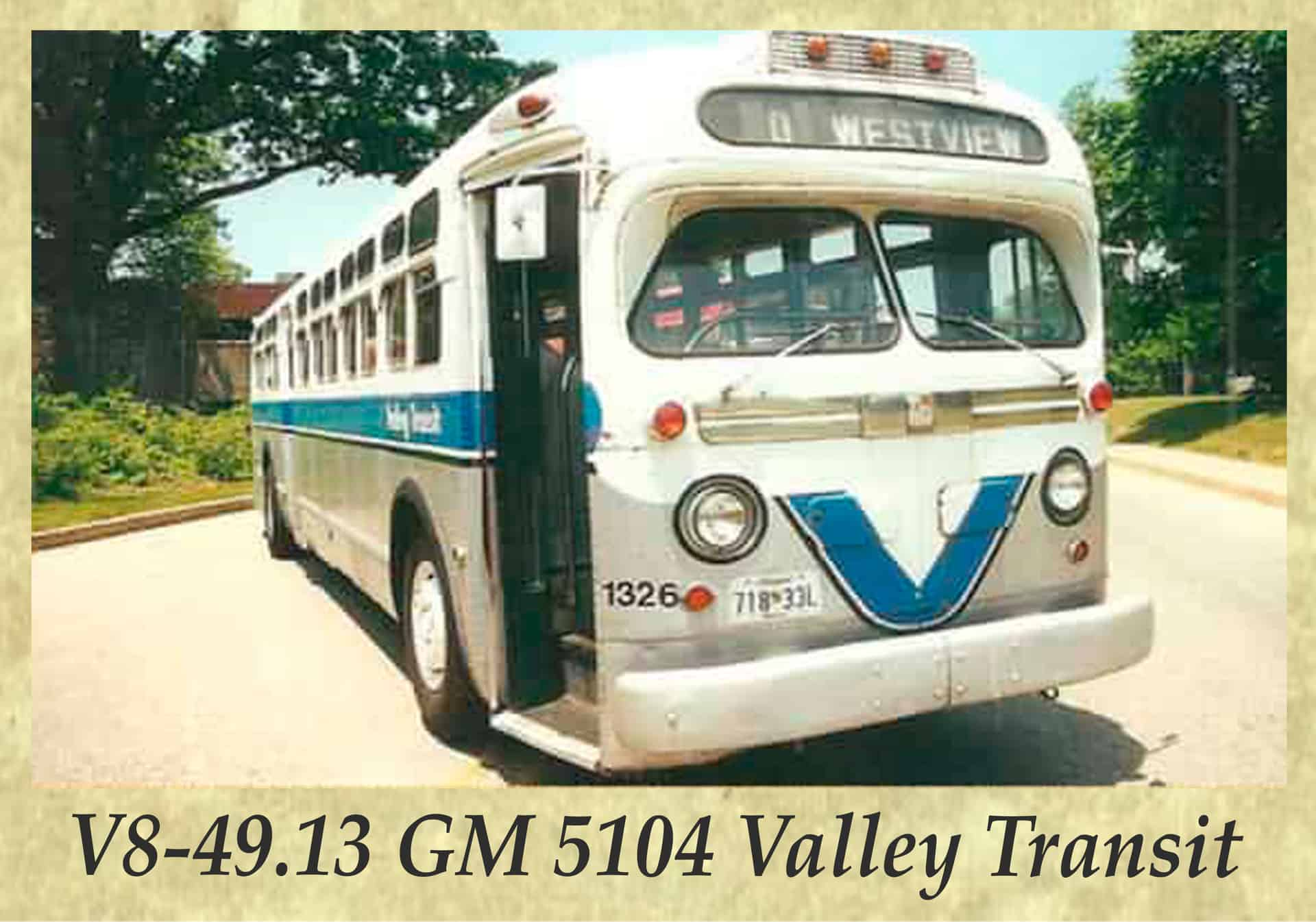 V8-49.13 GM 5104 Valley Transit
