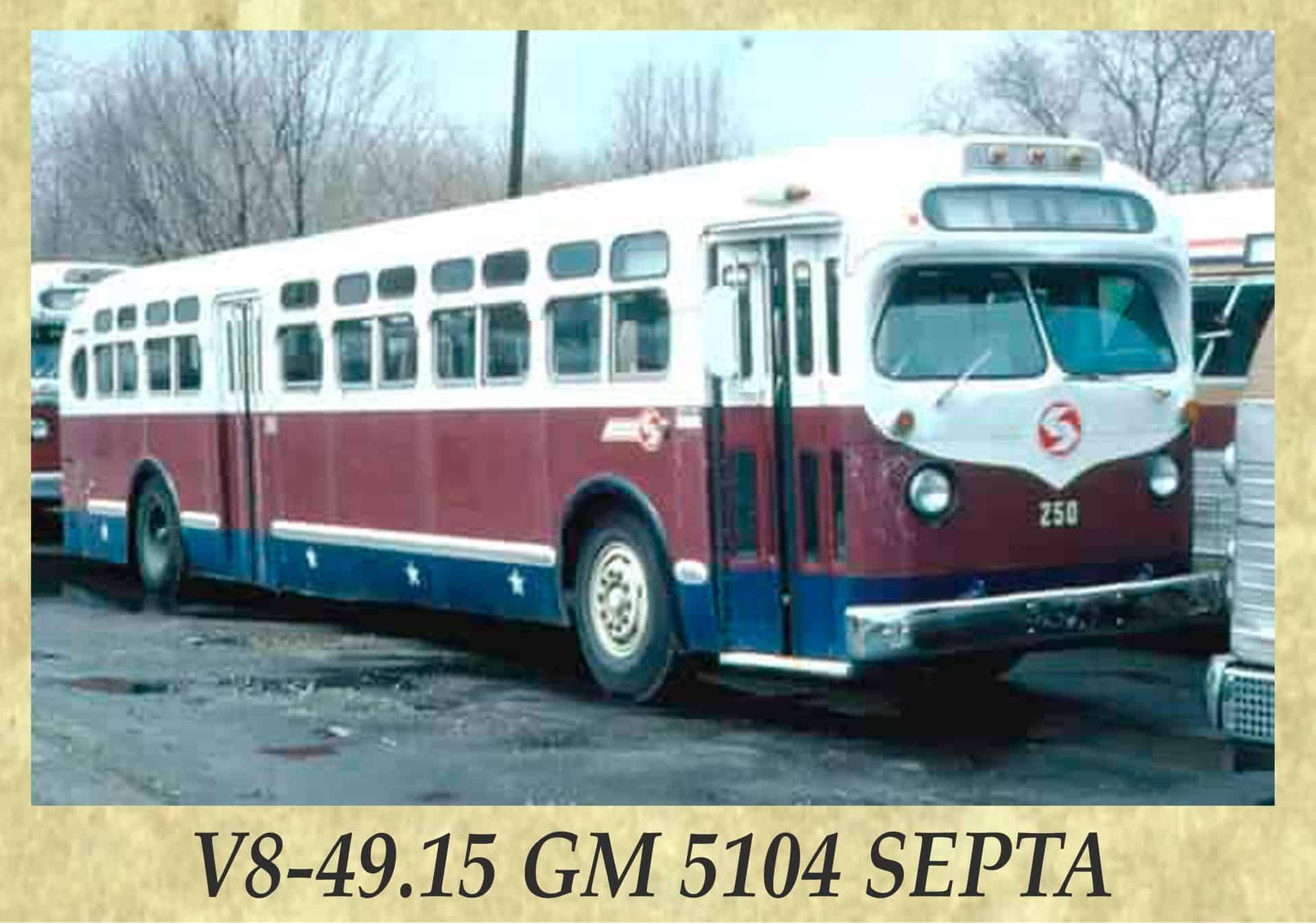V8-49.15 GM 5104 SEPTA