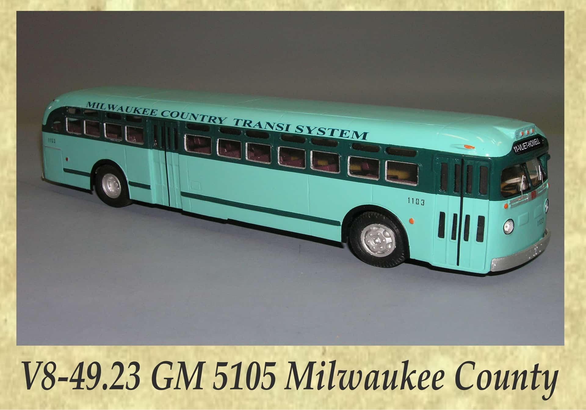V8-49.23 GM 5105 Milwaukee County