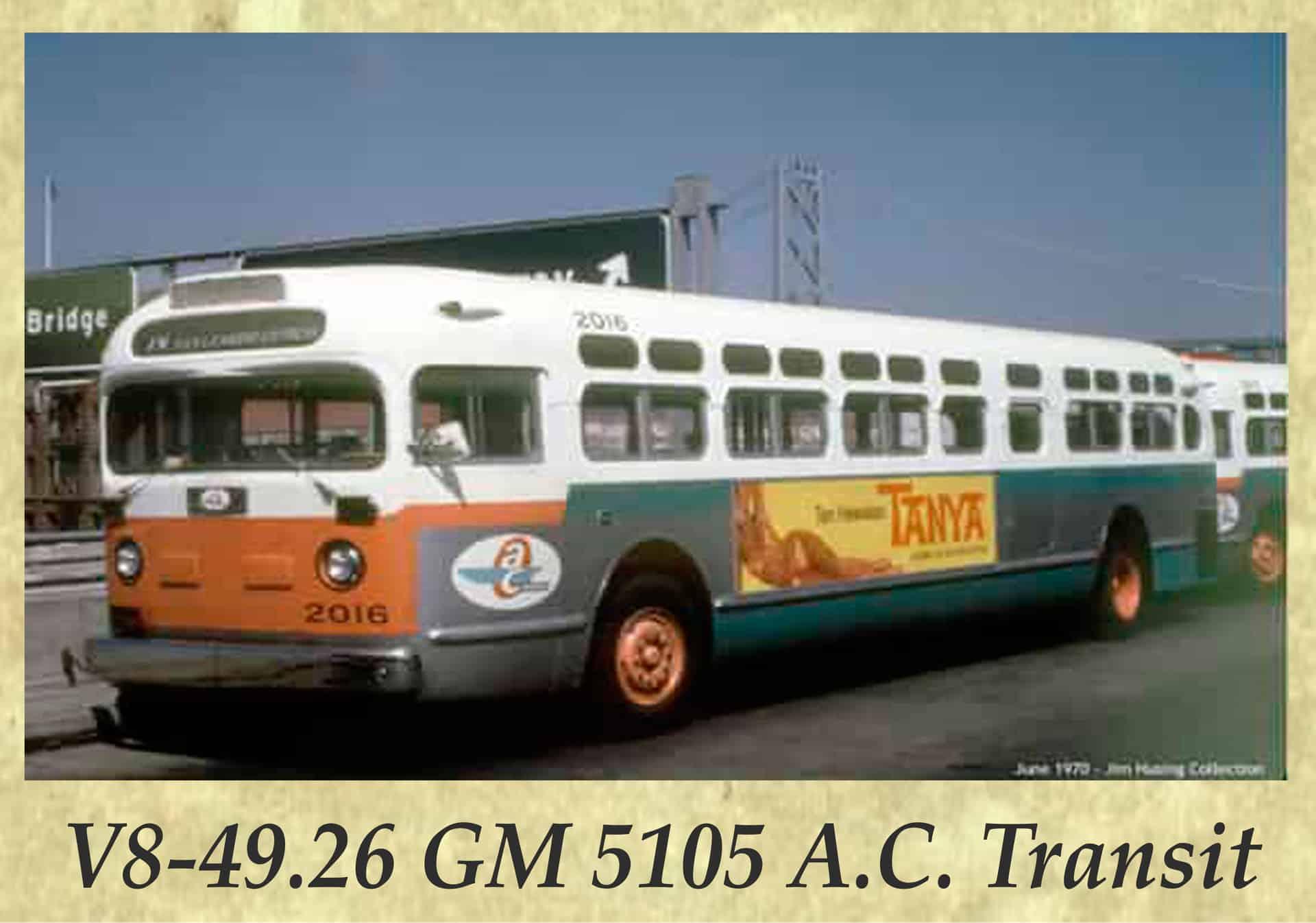 V8-49.26 GM 5105 A.C. Transit