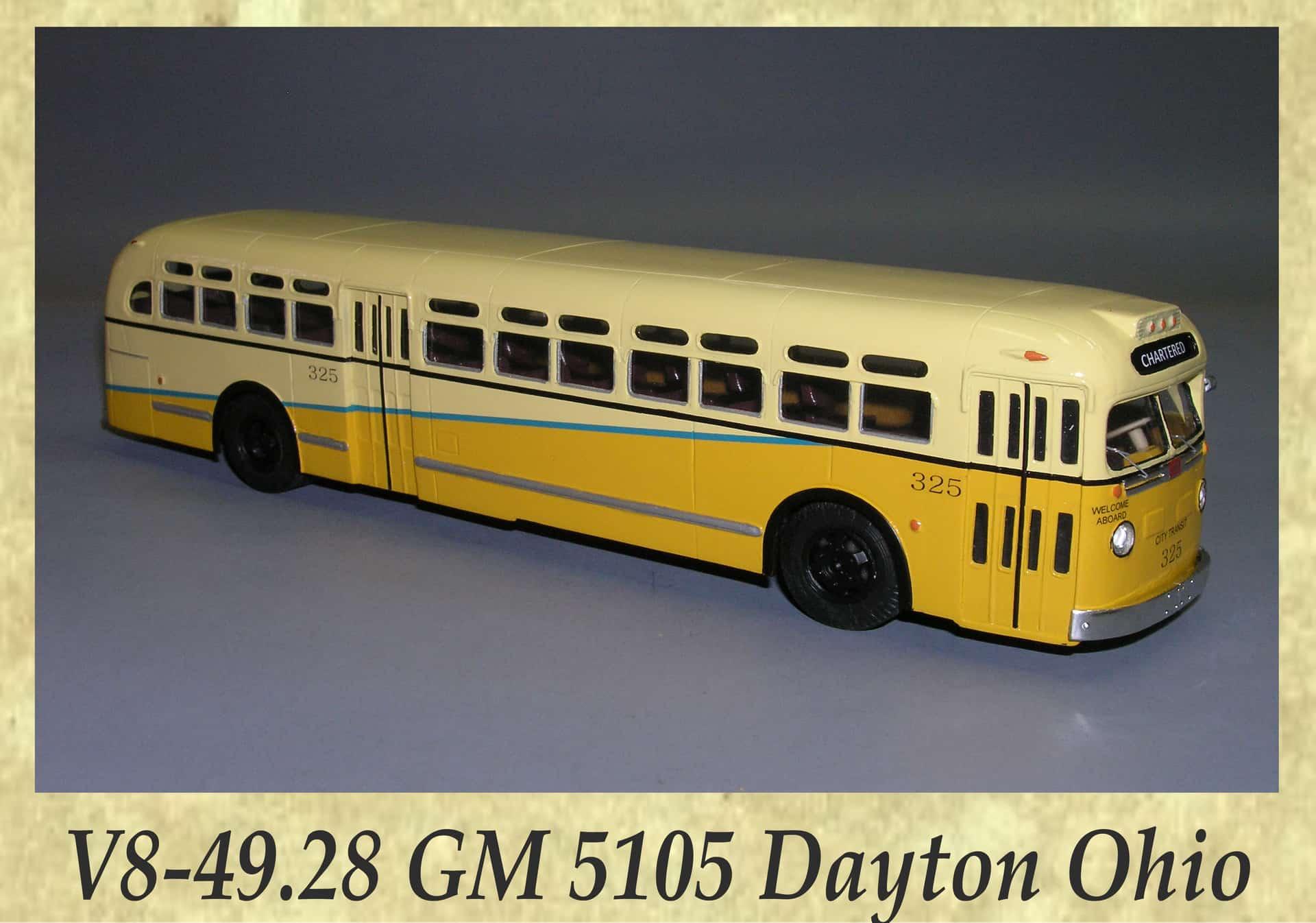 V8-49.28 GM 5105 Dayton Ohio