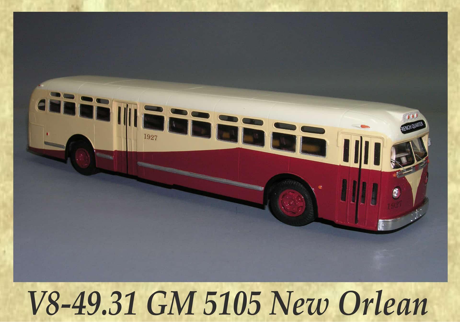 V8-49.31 GM 5105 New Orlean