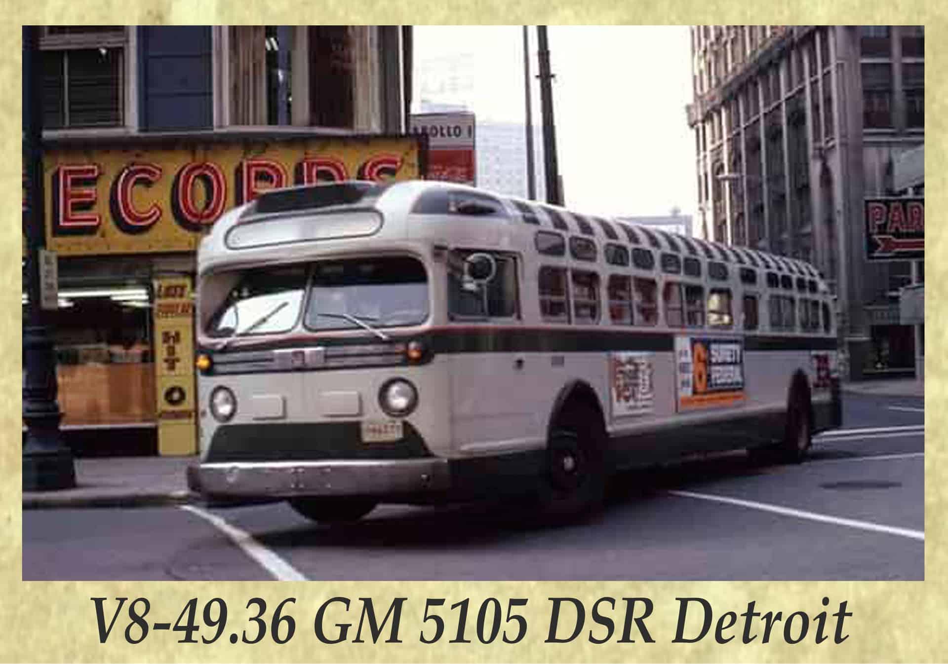 V8-49.36 GM 5105 DSR Detroit