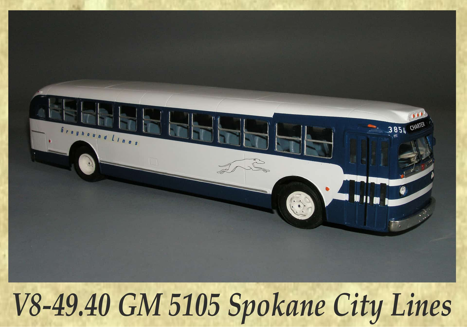 V8-49.40 GM 5105 Spokane City Lines