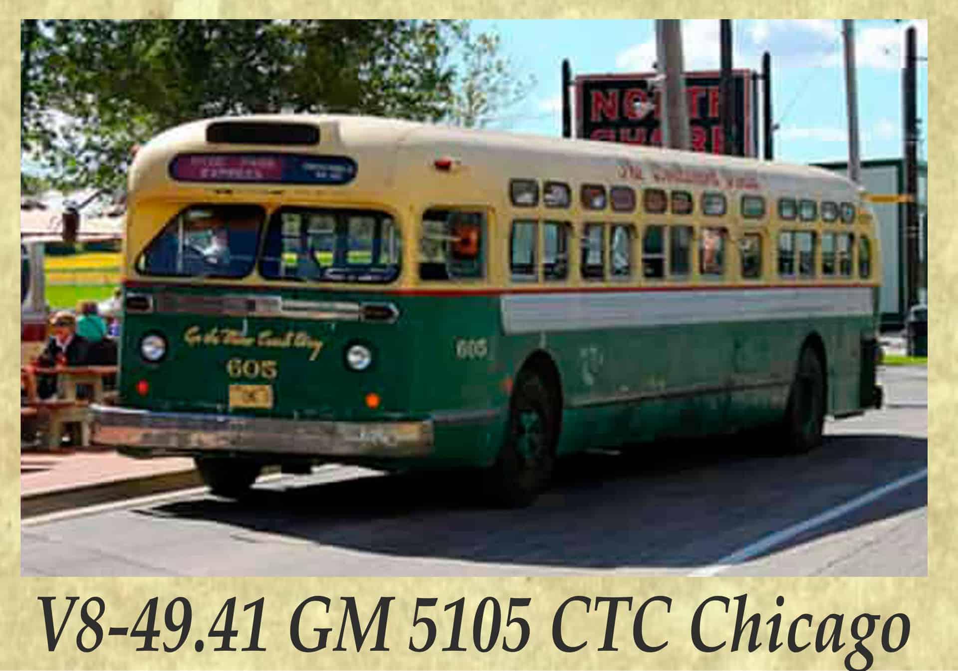 V8-49.41 GM 5105 CTC Chicago