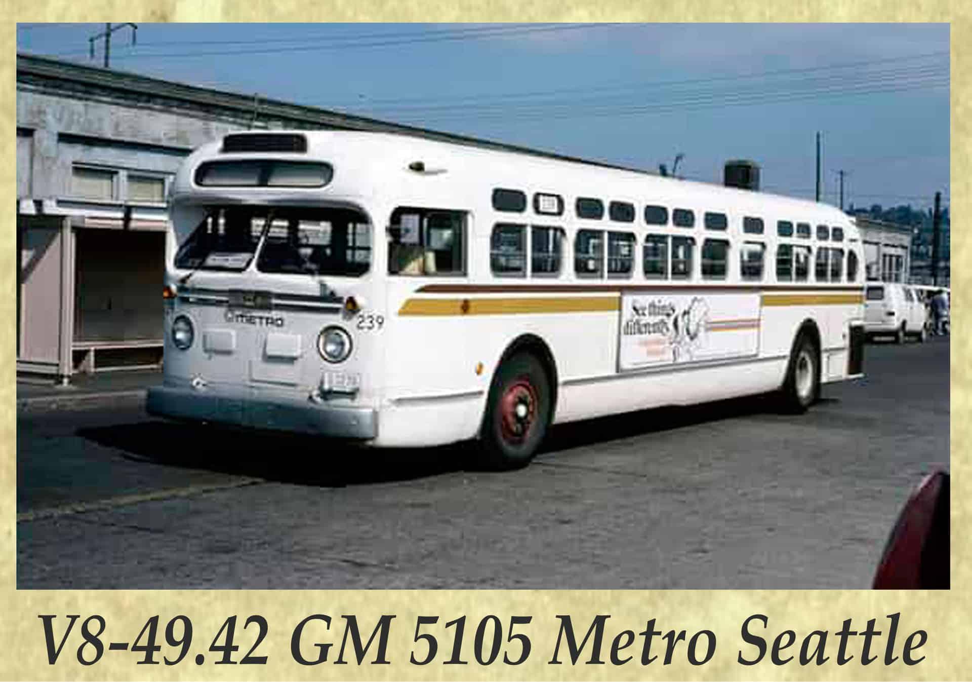 V8-49.42 GM 5105 Metro Seattle