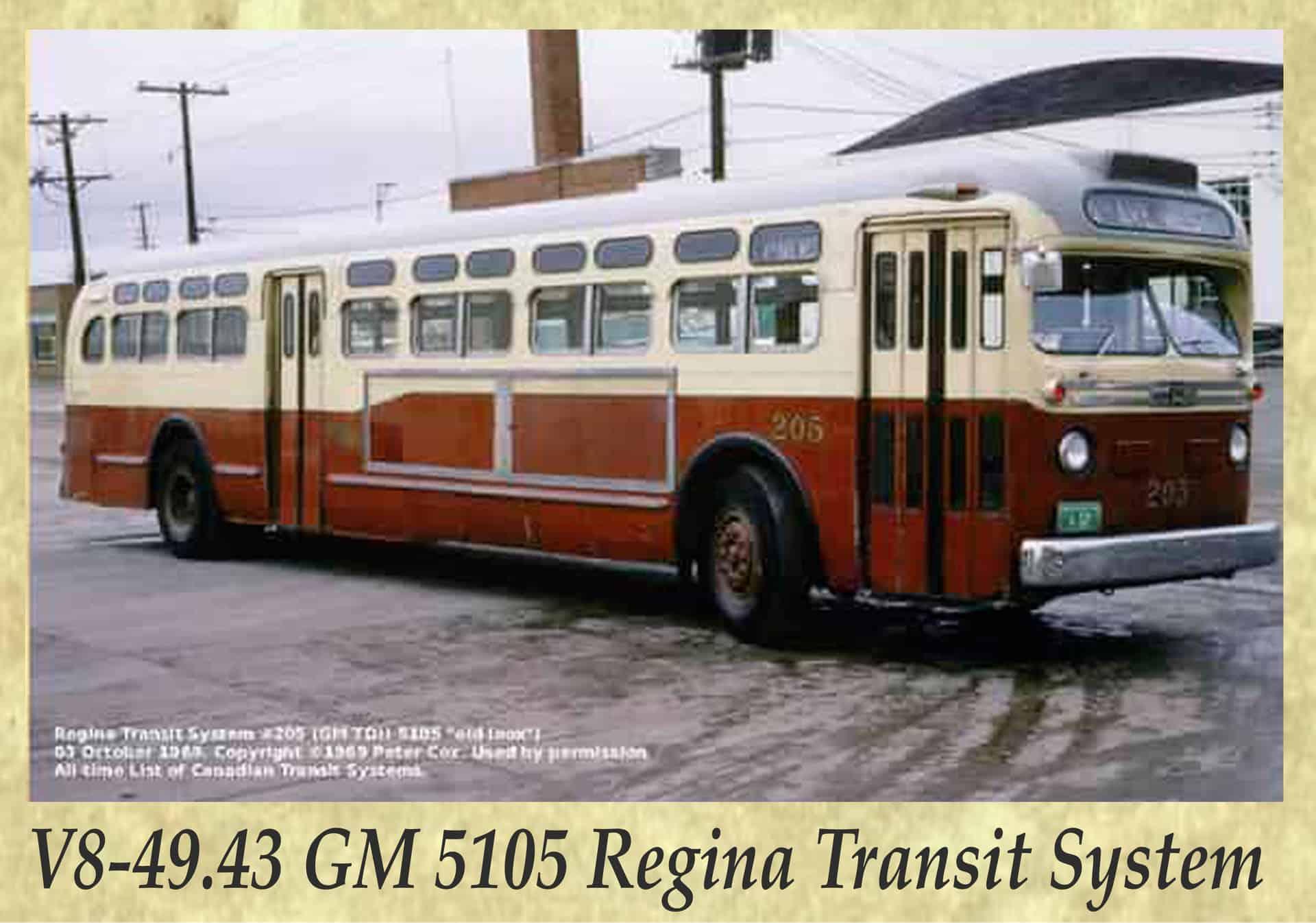 V8-49.43 GM 5105 Regina Transit System