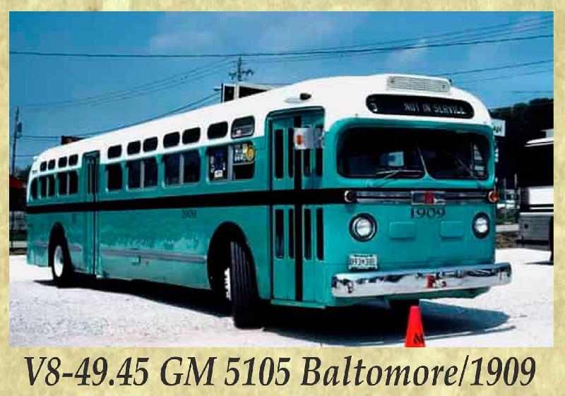 V8-49.45 GM 5105 Baltomore 1909