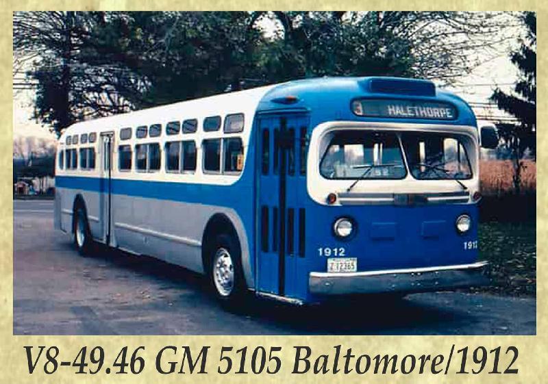 V8-49.46 GM 5105 Baltomore 1912