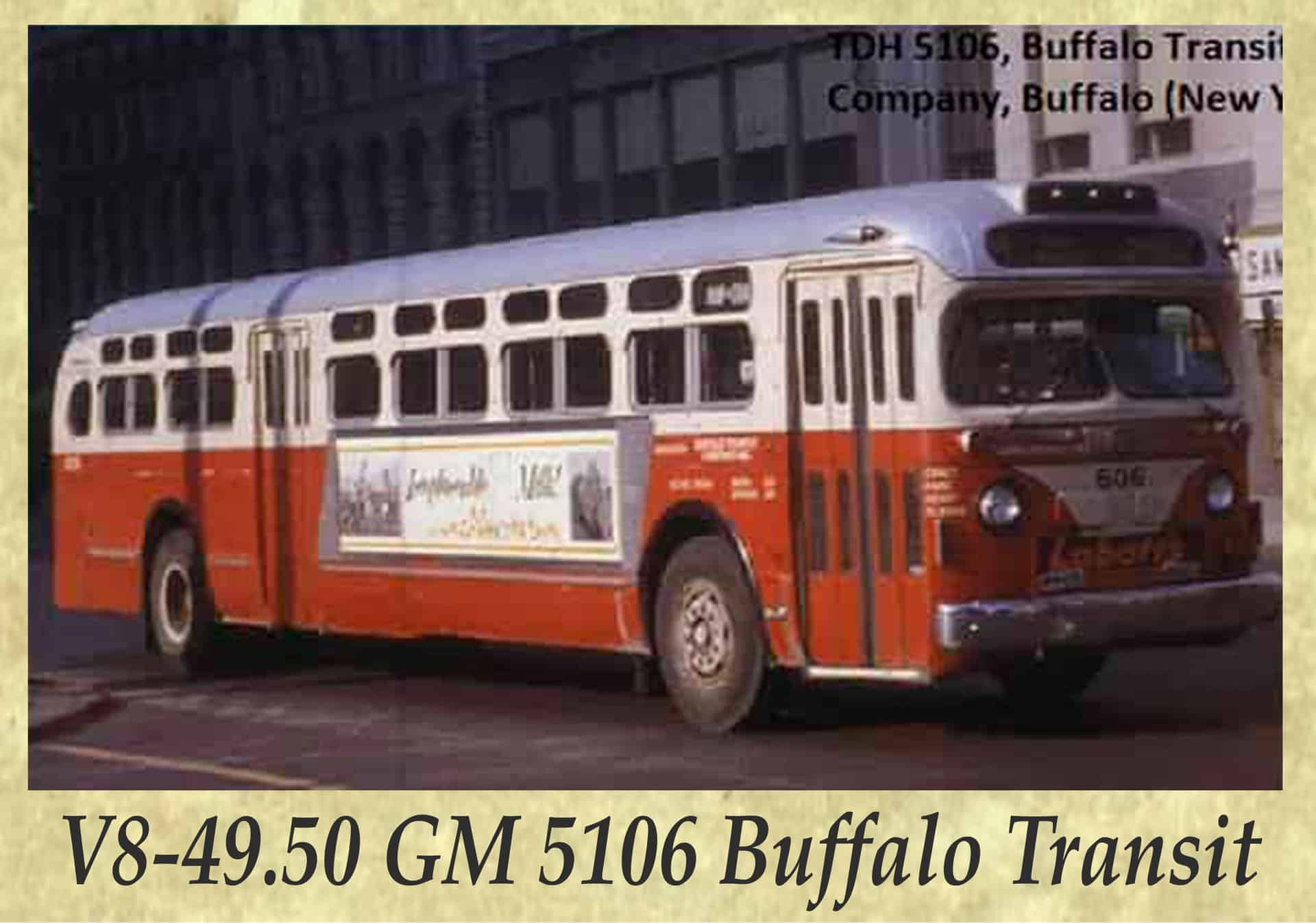 V8-49.50 GM 5106 Buffalo Transit