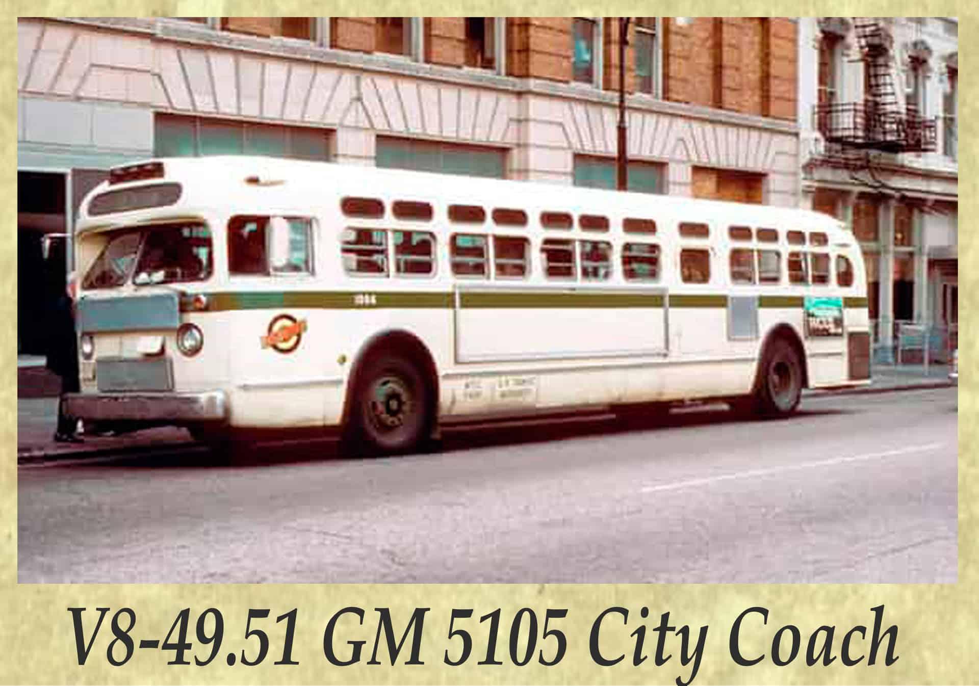 V8-49.51 GM 5105 City Coach