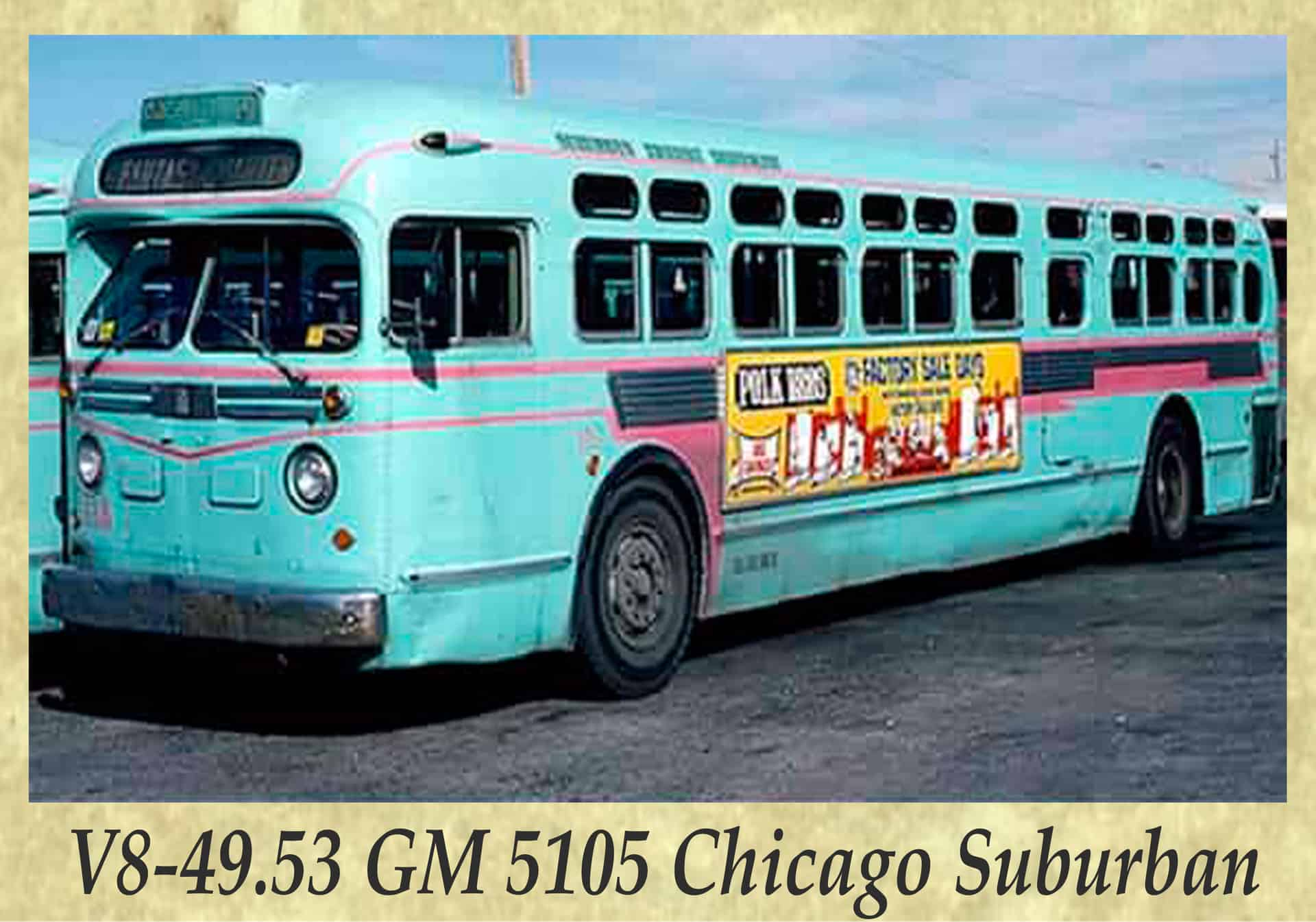 V8-49.53 GM 5105 Chicago Suburban