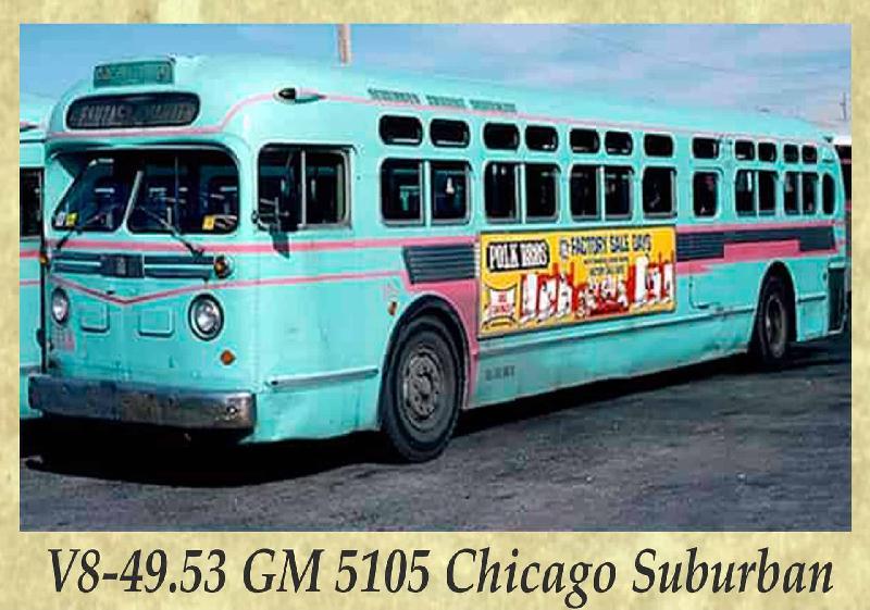 V8-49.53 GM 5105 Chicago Suburban