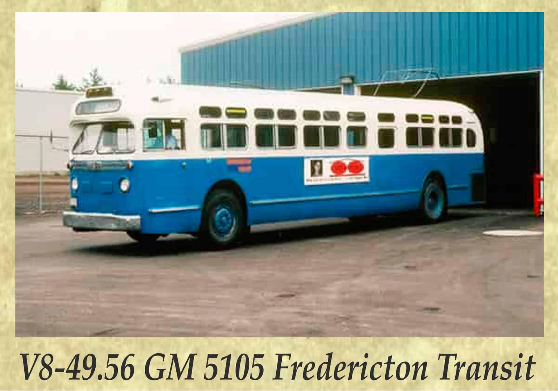 V8-49.56 GM 5105 Fredericton Transit