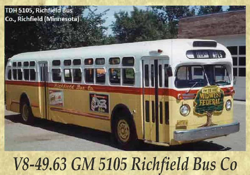 V8-49.63 GM 5105 Richfield Bus Co
