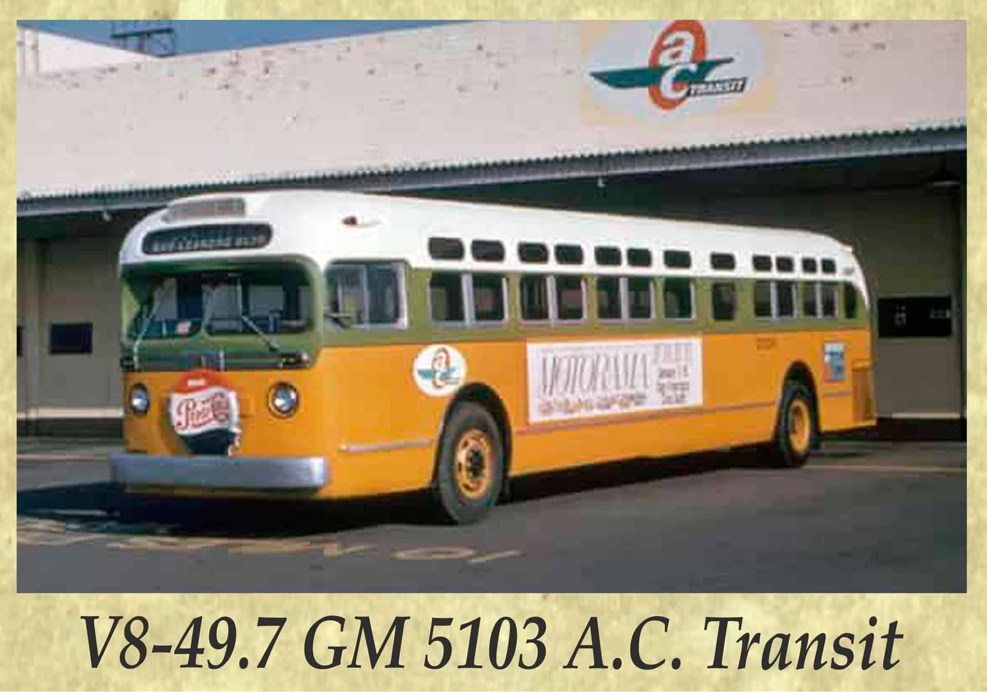 V8-49.7 GM 5103 A.C. Transit