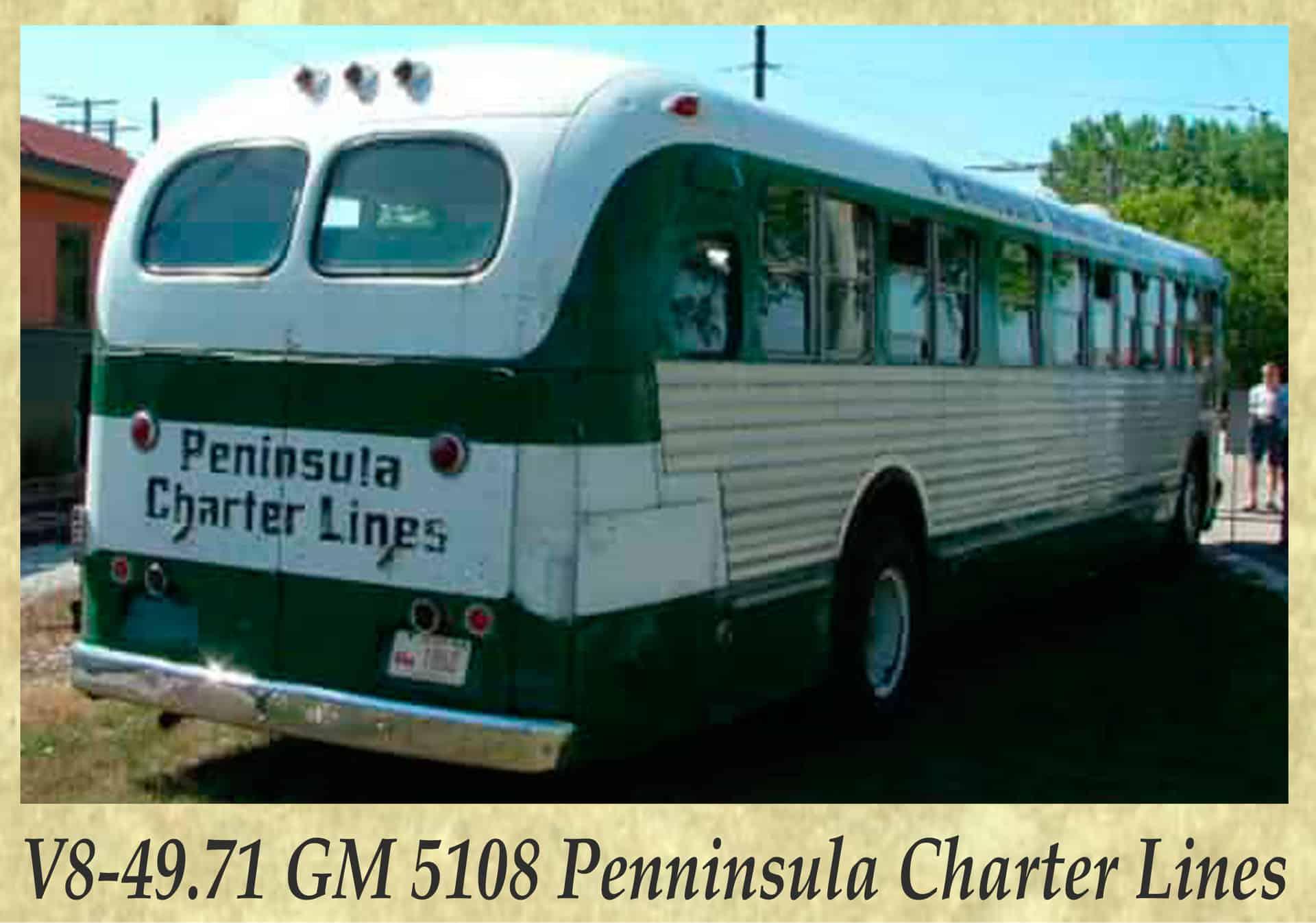 V8-49.71 GM 5108 Penninsula Charter Lines