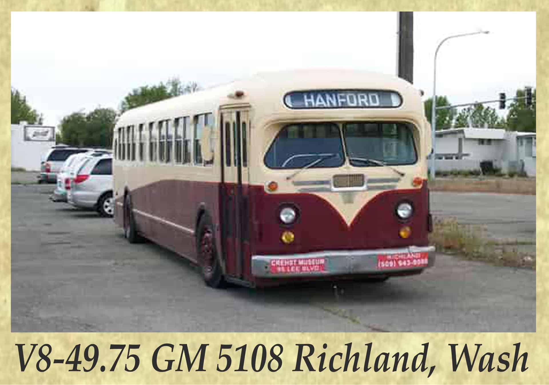 V8-49.75 GM 5108 Richland, Wash