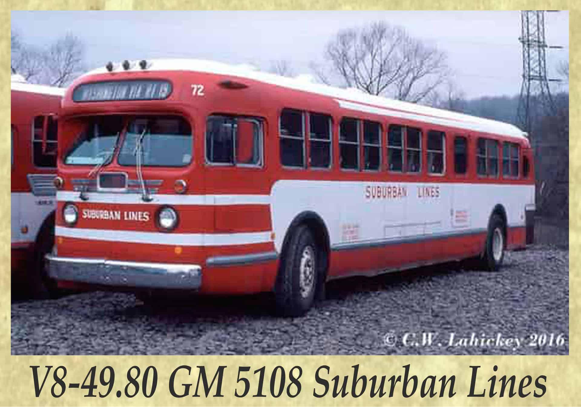 V8-49.80 GM 5108 Suburban Lines