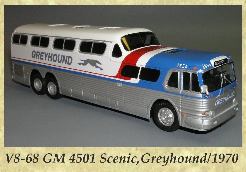 V8-68 GM 4501 Scenic,Greyhound 1970