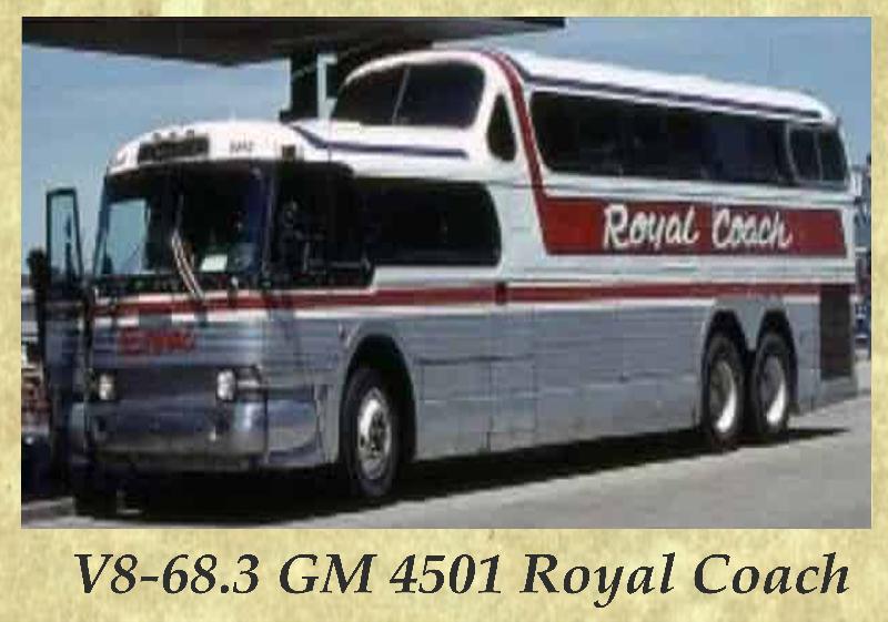 V8-68.3 GM 4501 Royal Coach