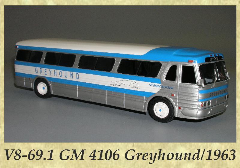 V8-69.1 GM 4106 Greyhound 1963