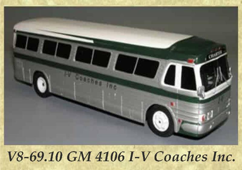 V8-69.10 GM 4106 I-V Coaches Inc.