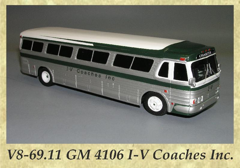 V8-69.11 GM 4106 I-V Coaches Inc.