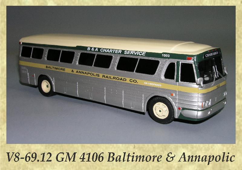 V8-69.12 GM 4106 Baltimore & Annapolic