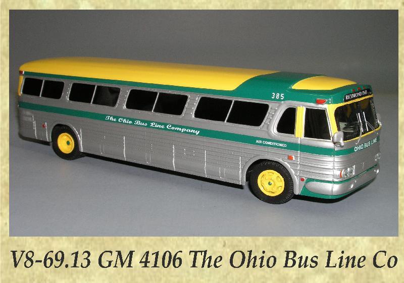 V8-69.13 GM 4106 The Ohio Bus Line Co