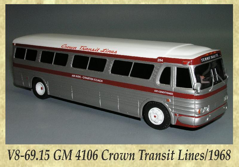 V8-69.15 GM 4106 Crown Transit Lines 1968