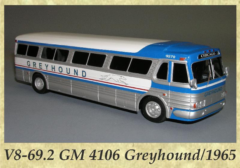 V8-69.2 GM 4106 Greyhound 1965