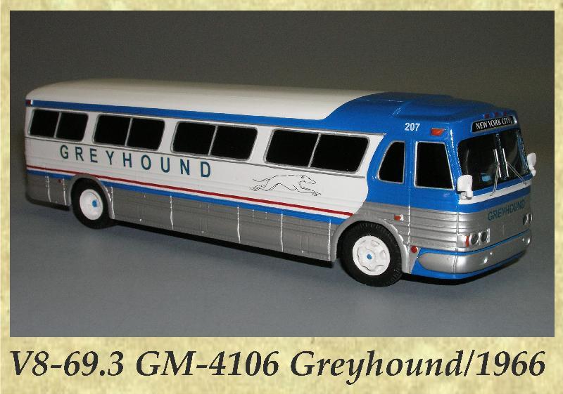 V8-69.3 GM-4106 Greyhound 1966