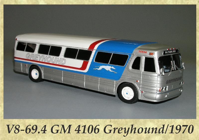 V8-69.4 GM 4106 Greyhound 1970