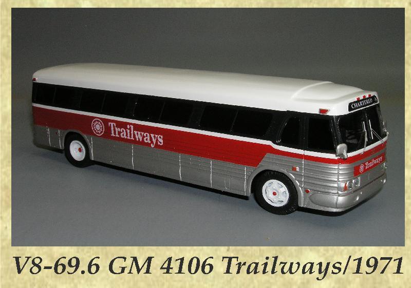 V8-69.6 GM 4106 Trailways 1971