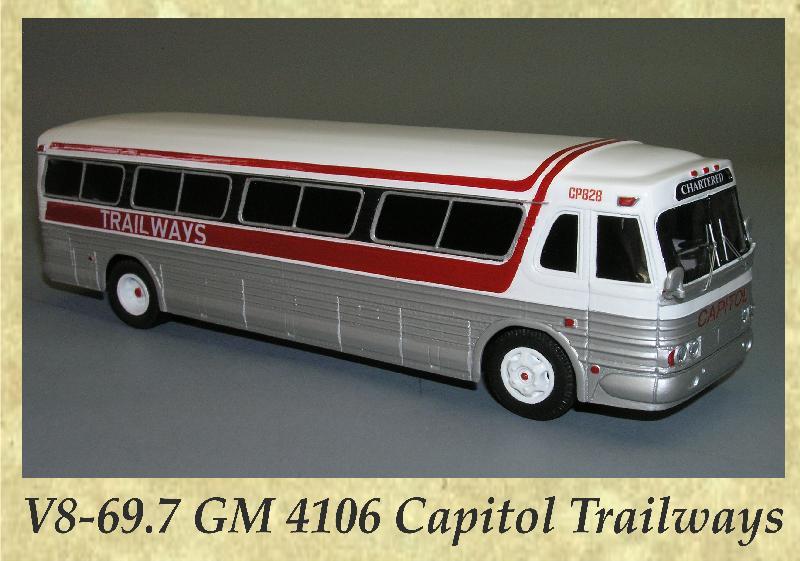 V8-69.7 GM 4106 Capitol Trailways