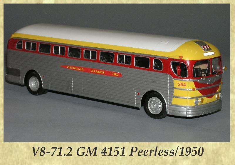 V8-71.2 GM 4151 Peerless 1950