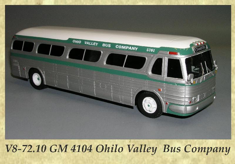 V8-72.10 GM 4104 Ohilo Valley Bus Company